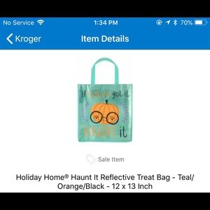 other monogrammed halloween bags
